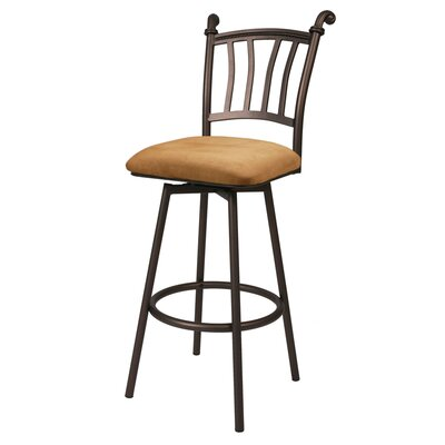 "Pastel Furniture Fairfield 26"" Swivel Counter Stool"