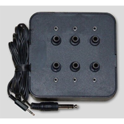Avid Six Position Socket Stereo Jack Box in Black
