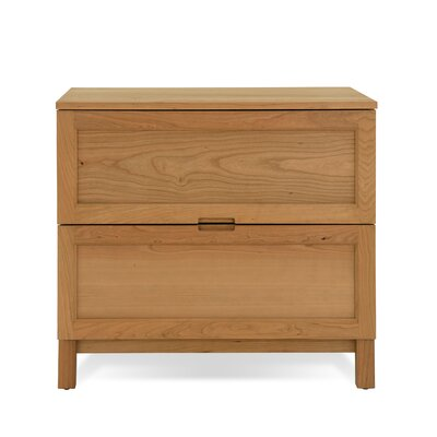 Jesper Office Woodland Lateral File Cabinet in Solid Natural Cherry
