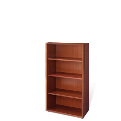 Jesper Office Bookcase with Three Adjustable Shelves