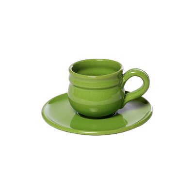 La Vita Vera Mamma Ro Demitasse and Saucer Set