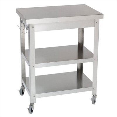 Danver B0618564Cocina Kitchen Serving Cart