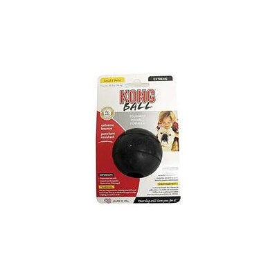 KONG Extreme Ball Dog Toy in Black