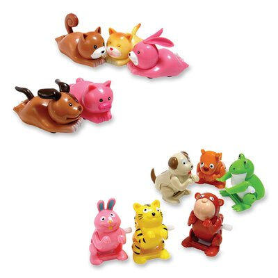Baumgartens Wind-up Flipping Animal Toy, Assorted Animals