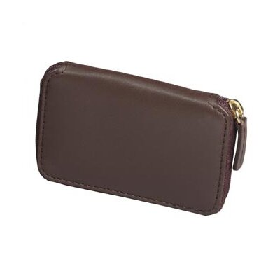 Winn International Harness Cowhide Leather Bi-Fold Wallet