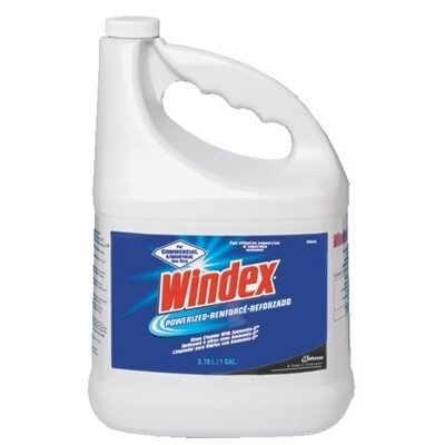 SC Johnson Johnson Diversey - Windex Glass Cleaners Windex 1 Gal Ready To Use Ammonia D: 395-90940 - windex 1 gal ready to use ammonia d