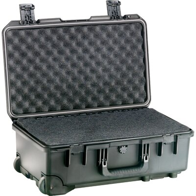 "Pelican Storm Carry-On Case with Foam: 14.1"" x 21.7"" x 8.9"""