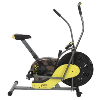 Pure Fitness Fan Upright Bike