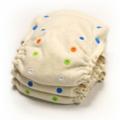 Babykicks Organic Fitted Diaper