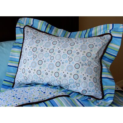 Caden Lane Classic Blue Pillow Sham