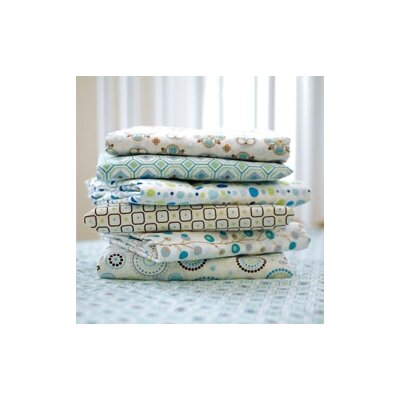 Caden Lane Vintage Octagon Pattern Crib Sheet