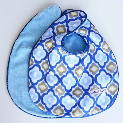 Caden Lane Ikat Mod Bib Set (Set of 2)