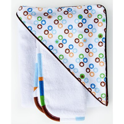 Boutique Star Dot Hooded Towel Set