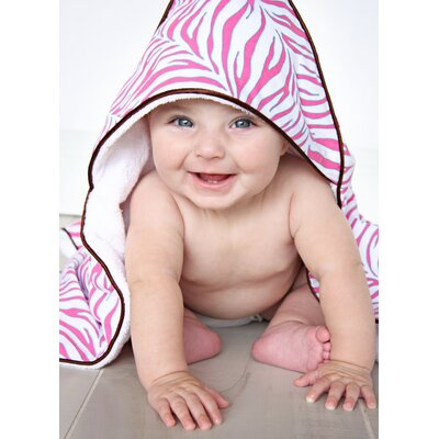 Caden Lane Boutique Zebra Hooded Towel Set