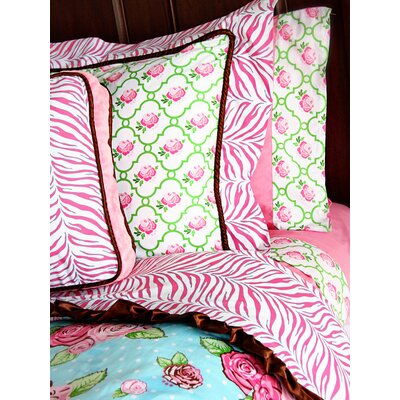 Caden Lane Boutique Girl Square Pillow