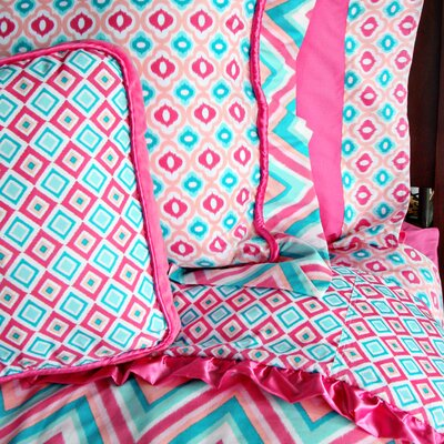 Caden Lane Ikat Girl Duvet Collection