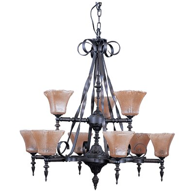 Framburg Galicia 9 Light Dining Chandelier