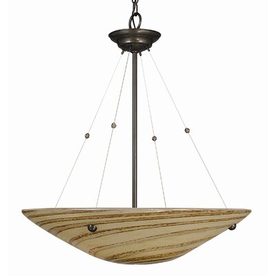 Framburg Gaia 4 Light Dining Chandelier
