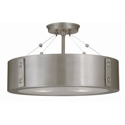 Framburg Oracle 4 Light Semi Flush Mount