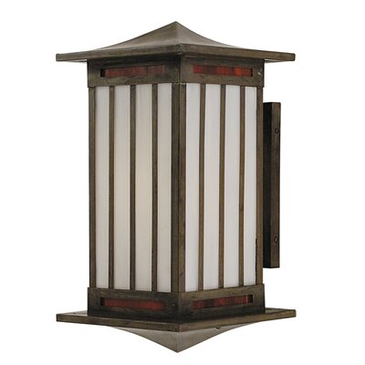 Arroyo Craftsman Himeji 1 Light Outdoor Wall Sconce