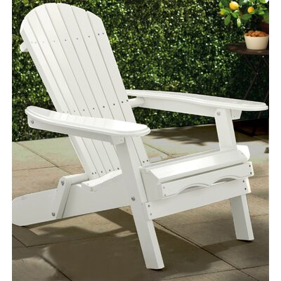 Atlantic Outdoor Painted Simple Adirondack Chair