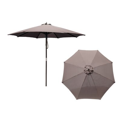 Atlantic Outdoor 9' Hardwood Market Umbrella