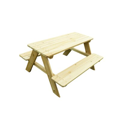 Atlantic Outdoor Kid's Wood Picnic Table