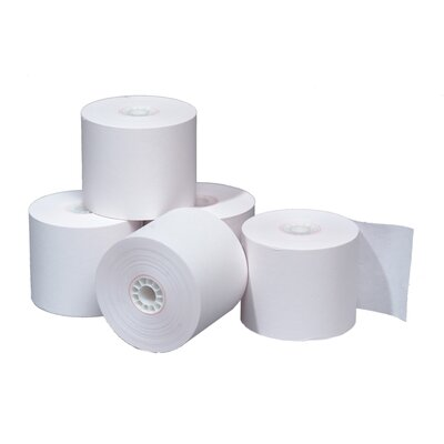 "TST Impreso 3.13"" x 220' Thermal POS Adding Machine and Calculator Roll (50 Rolls)"