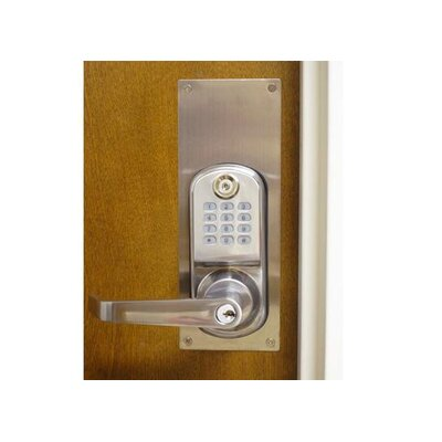 LockState ResortLock™ Deadbolt Cover Plate