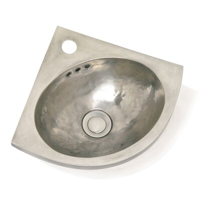 Metal Corner Bathroom Sink - Junior d' Angle 0280