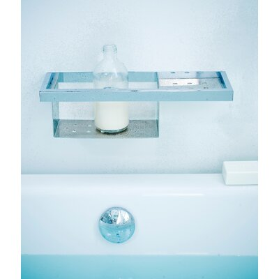 "WS Bath Collections Urban 15.8"" Soap Dish in Polished Chrome"