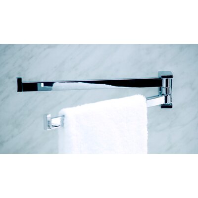"WS Bath Collections Urban 14.2"" Double Towel Bar in Polished Chrome"