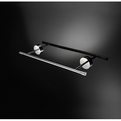 WS Bath Collections Duemilla 15.7&quot; Towel Bar in Polished Chrome
