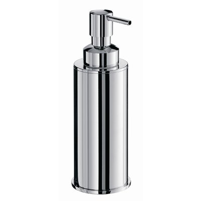 WS Bath Collections Complements Saon Soap Dispenser in Polished Chrome