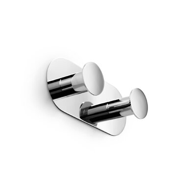WS Bath Collections Napie Double Bathroom Hook