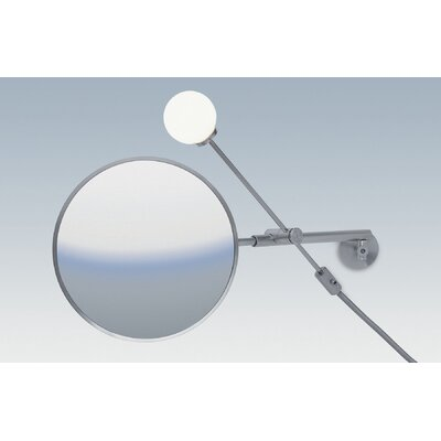 WS Bath Collections Dr. Jane Wall-mount Magnifying (3X) Makeup Mirror