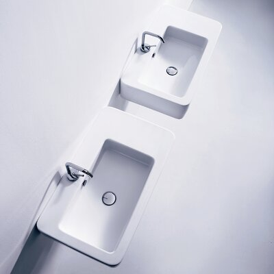 WS Bath Collections Kerasan Ego Wall Mounted / Vessel Bathroom Sink