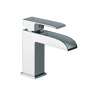 WS Bath Collections Fonte Single Handle Bathroom Sink Faucet