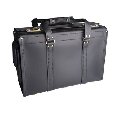 Korchmar Aviator Catalog Case in Black