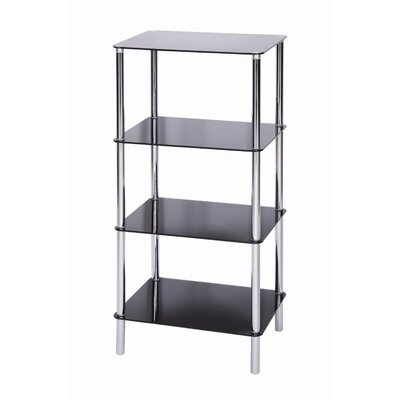 LEVV Sierra 4 Tier Square Shelving Unit
