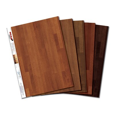 MEGA Swatch Dark MEGA Swatch Hardwood Floor Prints – 5 pk