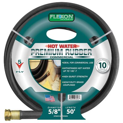 Flexon Hot Water Rubber Garden Hose