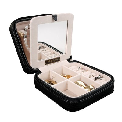 Dana Faux Leather Jewelry Box