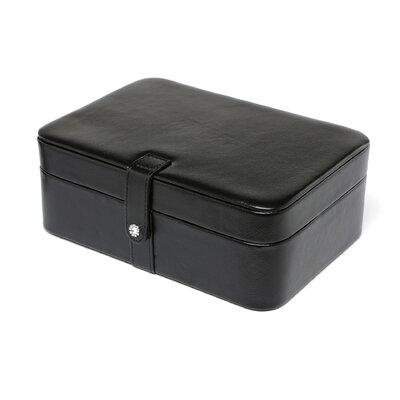 Remy Forty-Eight Section Jewelry Box in Black