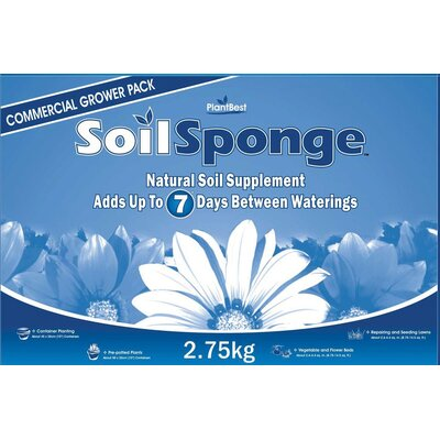Plant Best SoilSponge 6 Pound Commercial Bag