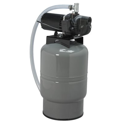 1/2 HP Shallow Well System with 30 Gallon Precharged Tank
