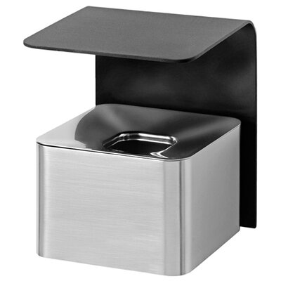 Blomus Casa Stainless Steel Wall Ashtray in Black