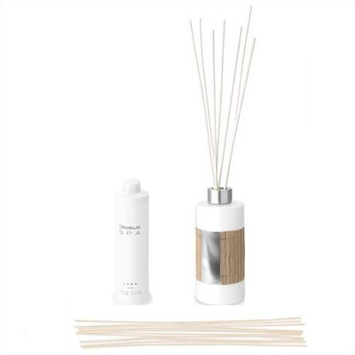 Blomus Spa Porcelain and Bamboo Room Scent Diffuser Set