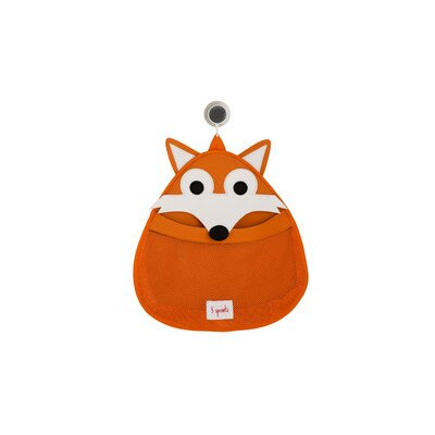 3 Sprouts Fox Bath Storage Caddy
