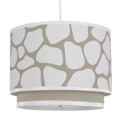 Oilo Cobblestone Double Cylinder Light in Taupe